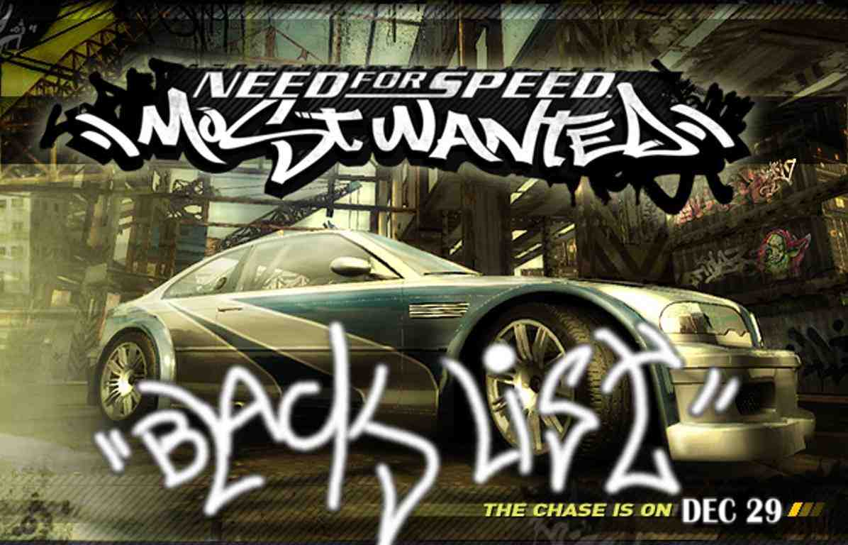 NFS BlackList How it all started….