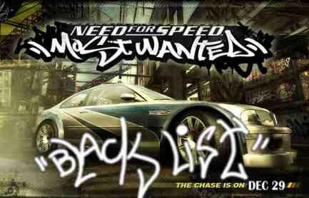 nfs blacklist poster